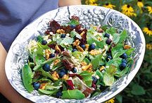 Summer Salads / Eat your way to a slimmer body with these yummy salad ideas, perfect for the hot summer months.
