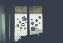 zima a vianočky