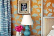 wallpaper + fabric / by Madame Muse