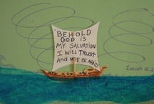 Bible lessons/crafts / by Tasha Wood