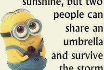 My minion quote