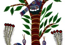 FOLK ART GOND PAINTING
