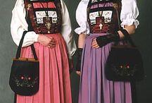 Schweizer Trachten, Textilien und Brauchtum