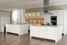Küchen / Schöne Wohnsituationen und Einrichtungsideen für Küchen und Wohnküchen