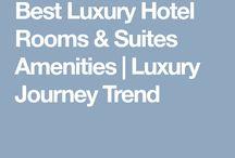 Best Luxury Hotel Rooms & Suites Amenities