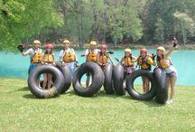 Actividades de Aventura en Huasteca Secreta / Rappel, saltos de cascadas, tubbing, natación a la Cascada, y mucha diversión!