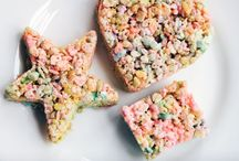 Sweets: Popcorn & Cereal Treats / by Christi Allen