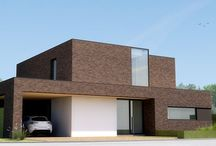Woningbouw / Architectuur grondgebonden woningen