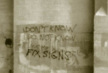 Fix Signs graffiti