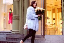 Dyed furs.. Fashion for classy people / Fur fashion style fox elegance class look street style cool
