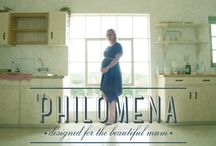 Philomena - Designed for the Beautiful Mum / Elegant garments designed to be worn before, during and after pregnancy. Philomena brings together style, comfort and Beauty of the Bump!