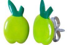 Enamel Studs Earrings