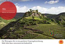 Weine mit Herkunft / Deutschland verfügt über 13 Weinanbaugebiete, in denen Qualitätswein erzeugt wird. Die Namen dieser Weinanbaugebiete sind von der Europäischen Union als geschützte Ursprungsbezeichnungen (g.U.) anerkannt. Das heißt, dass Weine, die den Namen der Region tragen, nicht nur zu 100 Prozent aus der Region stammen, sondern auch bestimmte Qualitätskriterien erfüllen müssen.   Weitere Infos: www.weine-mit-herkunft.de