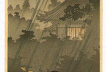 Lluvia ::: arte japonés