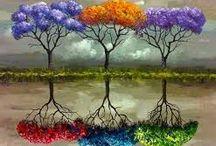 yağlı boya tabloları