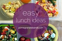 Lunch Ideas for my GUY <3 / Im wanting to make my babes lunches and prepare them for him.  / by Felizia Espinoza