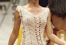 Vestidos Crochê Fashion