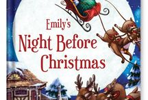 My Night Before Christmas Personalized Book / Nestle your child all snug in bed with this classic personalized Christmas story. This beautifully illustrated storybook is sure to become a tradition your family will cherish every holiday. / by I See Me! Personalized Children's Books