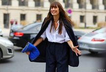 "Anger Board: The ""I'm Too Busy To Put My Coat On"" Armless Street Style Pose / by Beth King"