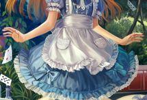 Anime Art Picture / Disegni arte dipinti spunti idee e stili