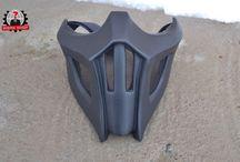 Noob Saibot mask mortal kombat 9