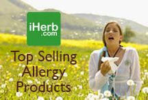 Top Selling Allergy Products / Top Selling Allergy Products on iHerb (http://www.iherb.com/allergies) ~ New Customers can use Rewards Code PNT999 to get $10 off of a $40 minimum purchase or $5 off first time orders of less than $40.  / by iHerb Inc