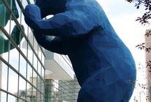 Creative sculptures and art