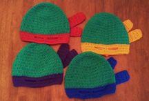 Crochet ninja turtles