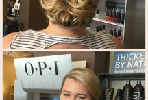 Updos with style / all your event styles that are trending and created here @lightsalonandspa
