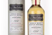 Benrinnes single malt scotch whisky / Benrinnes single malt scotch whisky