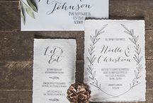 Invitaciones / Matrimonio