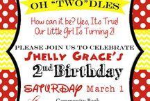 Em's 2nd birthday ideas / by Briahn Bradshaw