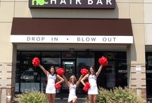 The Hair Bar Supports SMU CHEER
