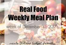 Real Food Meal Planning