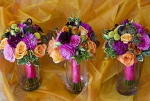 wedding bouquets / by Cindy Wilson