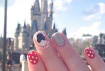 Disneyland nails