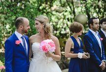 Tiziana & Joao - Castel Wedding in pink, blush & gold