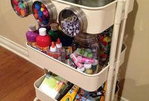 Craft Supply Organization and Storage