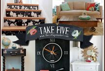 re-purpose, recycle, re-use / Ways to turn junk into useful items, art and more. / by Michele Batye