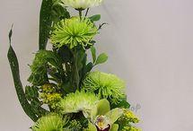 St. Patrick's flowers