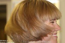 Through the Lens / Work of tonsorial hair design