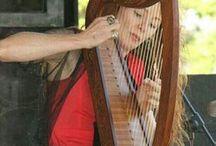 Gypsy Rose Celtic Harp /  Celtic Harp