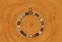Wooden Power Bracelets / Collection of Handmade Wooden Bracelets: Tree-of-Life-Bracelets, Partner-Bracelets and Wishing-Tree-Bracelets
