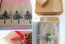 Tout pour Noël et jours fériés / Idées de cadeaux ou de recettes ainsi que des emballages cadeaux. Mais c'est aussi tout pour les jours fériés