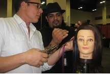 Babe Hair Extensions  / #Babe #Hair #Extension demo at CEA 2012 at the #HedLux booth.