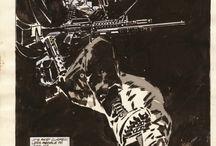 comics and storyboard
