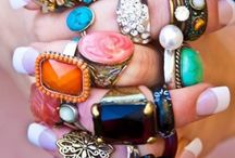 Rings with stones  / Rings / by Susie Swisher