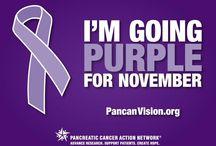 pancreatic cancer awareness / in loving memory of my dear aunt Maria Elida  ( tia Elidita) 8/23/14