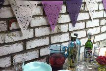 Bunting & Garden Parties