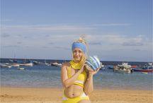 Rikku (Hot springs) - FFX-2 / Her bathsuit in the game :3  #rikku #finalfantasy #trikini #bikini #springs #beach #summer #videogame #cosplay #rydia